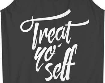 Treat Yo' Self Cool Men's Tank Top