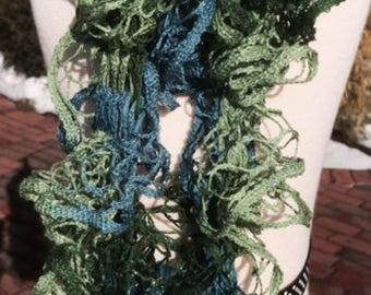 Lovely light weight frilly scarf