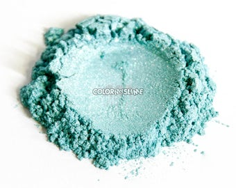BeauTIFFul Tiffany Blue Colored Powdered Pigment for Slime Nailpolish crafts Makeup