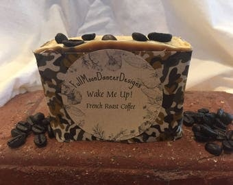 Wake Me Up! French Roast Coffee Soap!