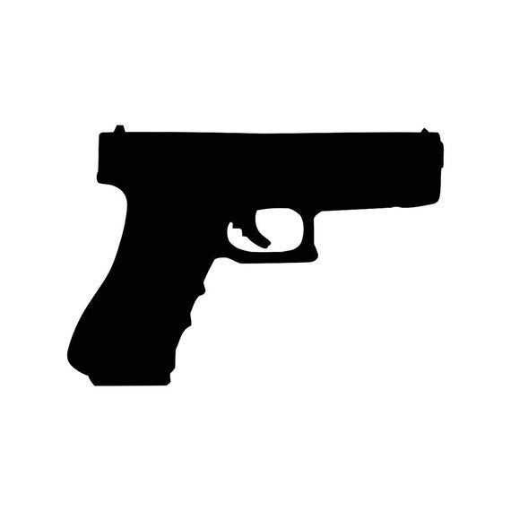 9MM Gun Ammo Pistol Graphics SVG Dxf EPS Png Cdr Ai Pdf Vector