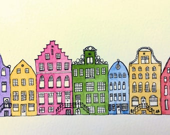 Dutch canalhouses