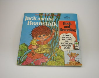 Jack and The Beanstalk,  Book and Record