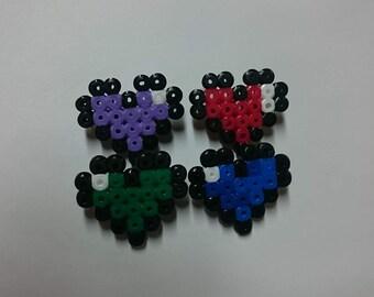 Pixel Heart Badge