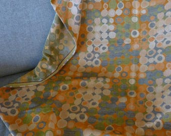 Vintage 60s/70s curtain fabric