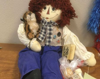"Raggedy Andy ""My First Friend Doll"""