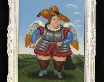 """Oil painting BOTERO """"reproductions"""""""