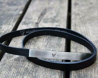 BECAT.TODAY Amelie Black Skinny Belt With Hardware Clasp
