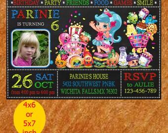Shopkins Invitation / Shopkins Birthday Invitation / Shopkins Birthday / Shopkins Invite / Shopkins Party / Shopkins Printable
