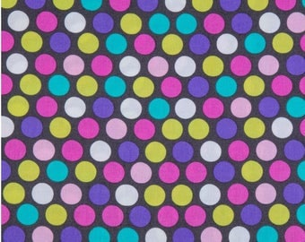 Cotton fabric, fabric by the yard, sewing fabric, quilting fabric, dot fabric, nursery fabric, summer fabric, apparel fabric, polkadot