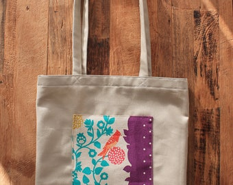 Tote bag - tote-bag fabric recycled - single
