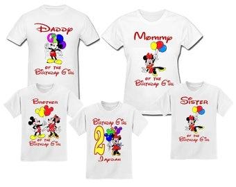 Minnie Mouse Birthday Girl T Shirt