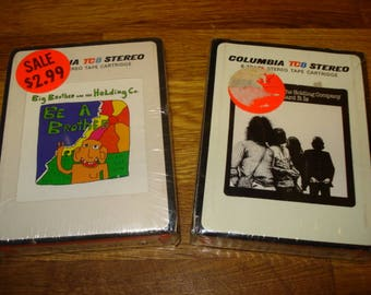 Big Brother and the Holding Company, Two 8 Track Tapes, Mint in Original Packaging, Free Shipping
