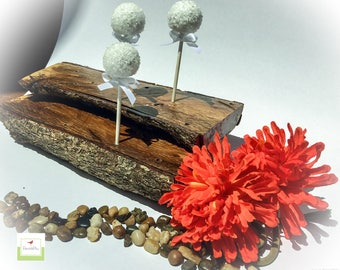 cake pop stand//wood//two tier//oak//weddings//birthdays//displays//bridal showers//baby shower//party decor//gifts//unique//decorations