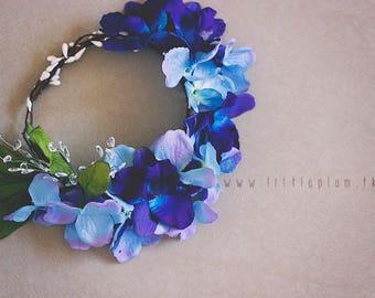 Newborn / Child Flower Crown  - Flower Crown - Crown - Fake Flowers - Faux Flower Crown - Fake Flower Crown - Photography Prop
