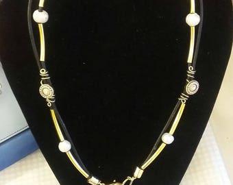 Gold N Freshwater Pearls