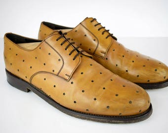 Robertino BUDAPESTER full leather mens shoes UK 11 EUR 46 Hand made