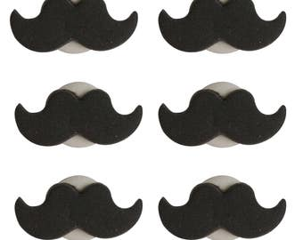 Edible Moustache Sugar Cake Topper Cupcake Decoration