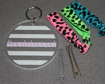 Neon Leopard Girls Set