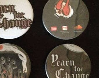Badges Yearn For Change