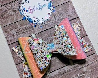 3.5 in Rainbow Collection-listing is for one bow- Choose style
