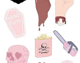 femme fatale _ sticker pack