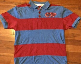 Men's Chip and Pepper Red & Blue Polo Shirt - sz. S
