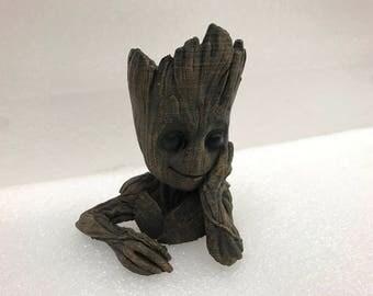 3D printed Groot Pot Holder