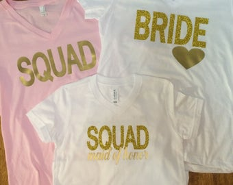 Wedding Party Tees