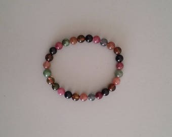 Tourmaline Bracelet - Stone of Vibrant Colours