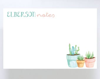 Cactus Notepad // To Do List // Cacti