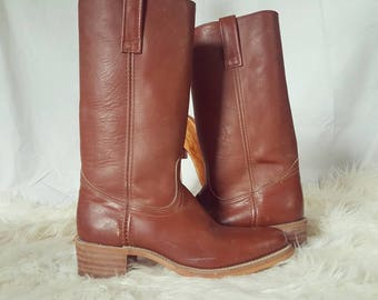 SALE Vintage Frye Boots 1980 Frye campus sz 9.5boots American classic leather boots