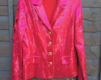 St John Couture by Marie Grey Vintage Sequin Jacket
