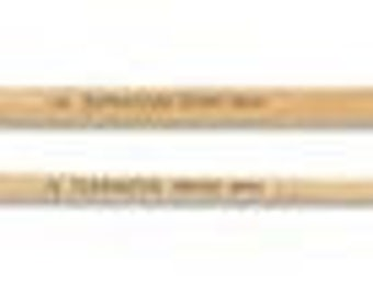 Black Natural Bristles with Wood Handle Paint Brushes - Paint Brushes - Detail Brush