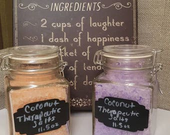 coconut therapeutic soothing salts