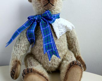 Teddy- 'Adam' Collectible Mohair Bear. One Off. Frank Webster.