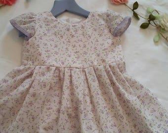 Pretty handmade baby dress 9-12 months sale