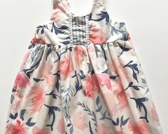 Flower girl dress toddler girl dress baby girl dress clothes