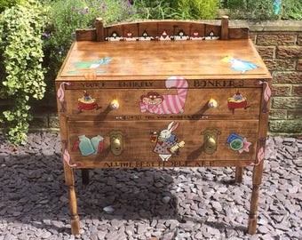 Alice in wonderland chest of draws