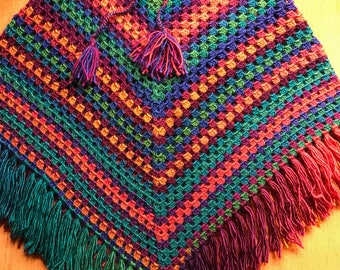 handmade kids ponchos (6-7 years old)