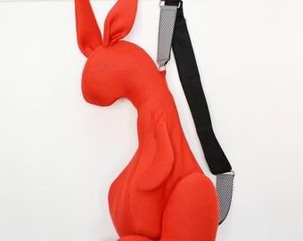PERT RED Rabbit Shoulder Bag