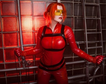 Red Fury Cosplay print