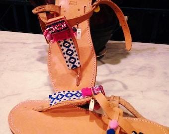 Boho greek sandal