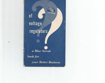 Blue Streak Voltage REgutation Booklet