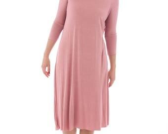 Mauve Tunic Dress