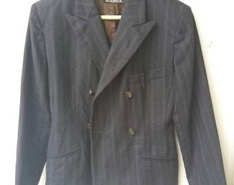 Rare!!! Vintage DKNY Blazer Suit Jacket