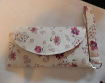 Pigs and Flowers Wallet