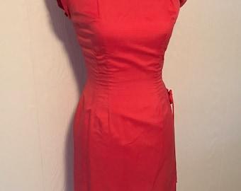 Vintage Silk Chinese Inspired Dress