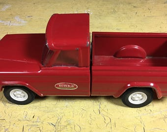 Red Metal Tonka 52030 Pickup Vintage Collectible Toy Car