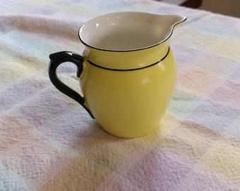 Vintage Czech Porcelain Pitcher